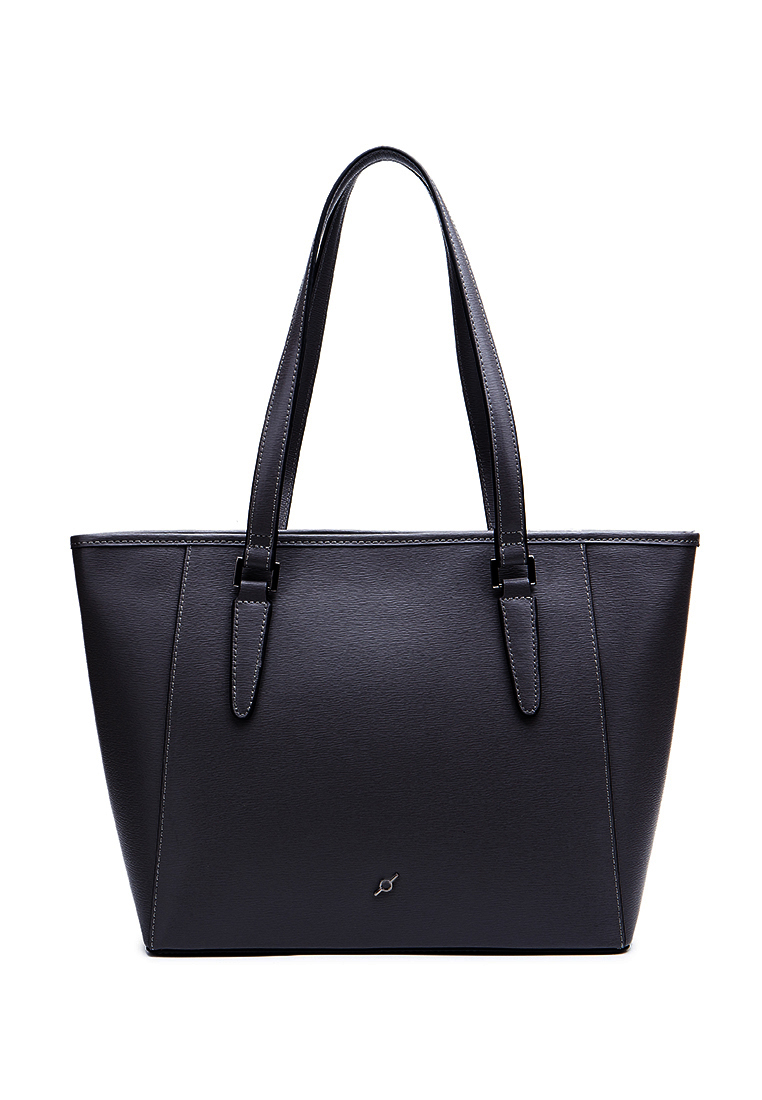 Saffiano Leather Top Shoulder Tote