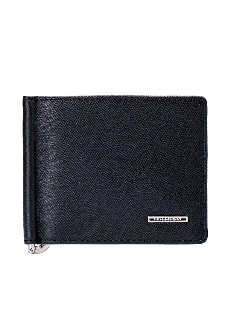 Saffiano Leather Money Clip Billfold Wallet (LWTS20B-MC)